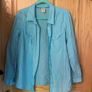 Lightweight button down dress shirt